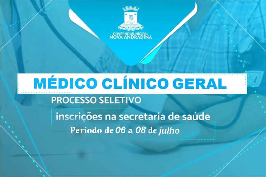 Center clinico geral divulga o
