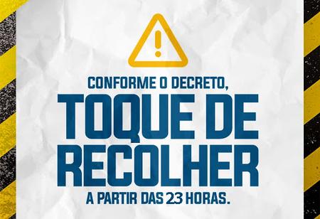 Left or right toque de recolher