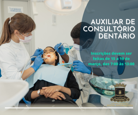Left or right auxiliarr de consultorio dentario