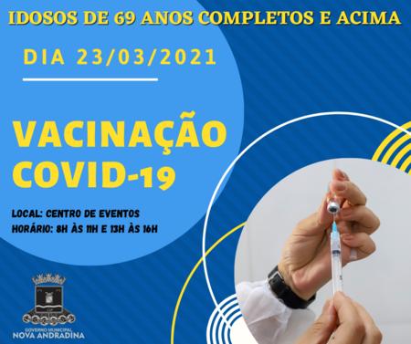 Left or right vacina o covid 19 69 anos