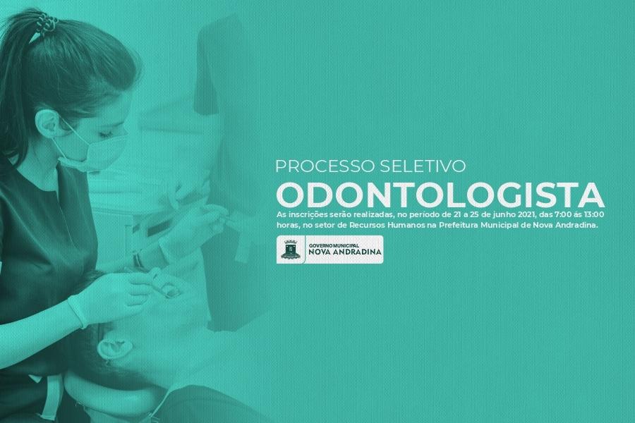 Center processo seleteivo odontologo