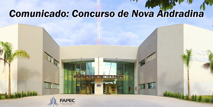Center centralizada logo fapec